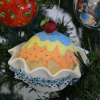 Enfeite Cupcake Natalino