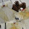 Anjos Natalinos com Lacca Paper